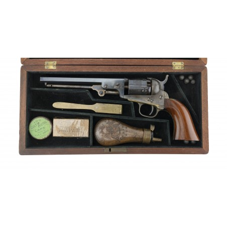 COLT 1849 POCKET MODEL CASED WITH ACCESSORIES (AC129)