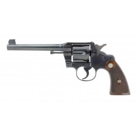 Colt Officer's Model Target Revolver in Original Box (C16655)