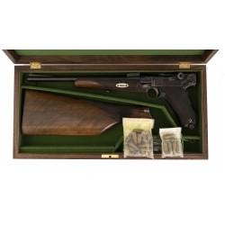 Cased DWM Luger Model 1920...