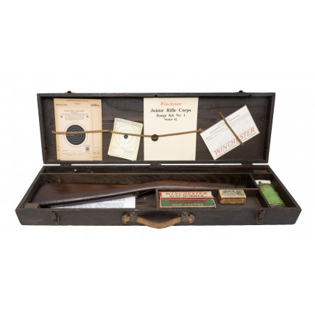 Rare Winchester Junior Rifle Corps Range Kit with Model 02 Rifle (W10991)