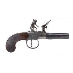 Flintlock Box Lock Pistol...