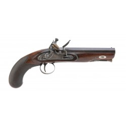 English Flintlock Pistol by...