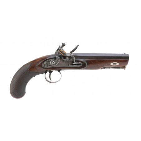 English Flintlock Pistol by Oakes (AH5983)