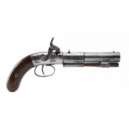 Sprague & Marston Single Shot Percussion Pistol (AH5957)