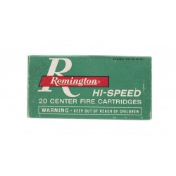 Remington Kleanbore .222...