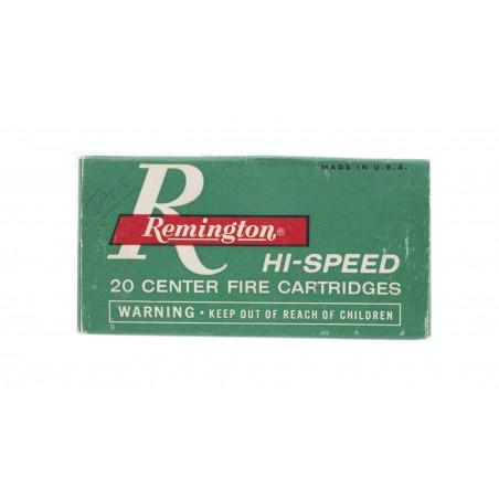Remington Kleanbore .222 Remington 50 Grain Vintage Ammunition (AM38)