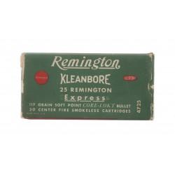 Remington Kleanbore .25...