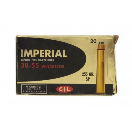 CIL Imperial .38-55 Winchester 255 Grain Vintage Ammunition (AM29)