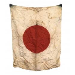 Japanese WWII Silk Flag...