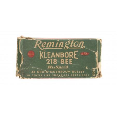 Remington Kleanbore .218 Bee 46 Grain Vintage Ammunition (AM41)