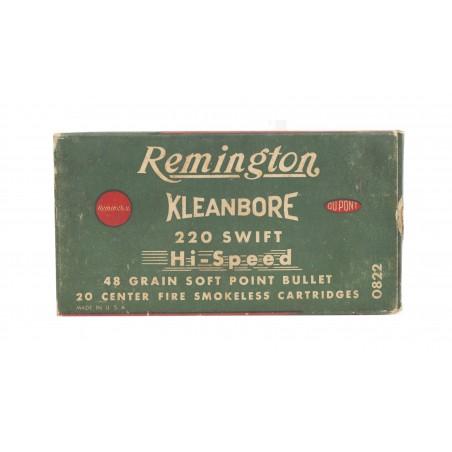 Remington Kleanbore .220 Swift 48 Grain Vintage Ammunition (AM42)