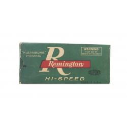 Remington Kleanbore .221...