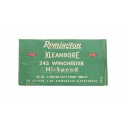 Remington Kleanbore .243...