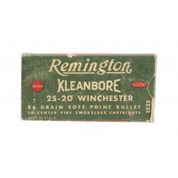 Remington Kleanbore .25-20...