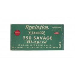 Remington Kleanbore .250...