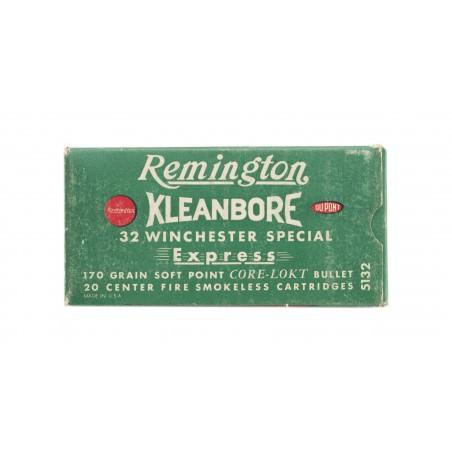 Remington Kleanbore .32 Winchester 170 Grain Vintage Ammunition (AM49)