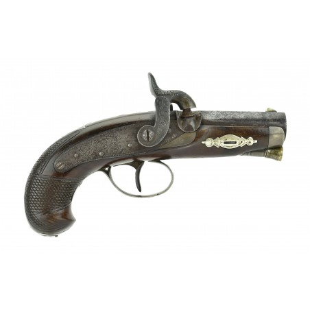 Scarce Hyde and Goodrich Marked Henry Deringer Pistol (AH4525)