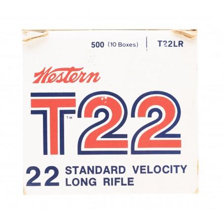 Western T22 .22 Long RIfle 40 Grain Vintage Ammunition (AM56)