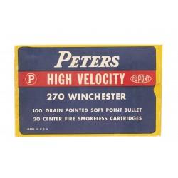 Peters High Velocity .270...