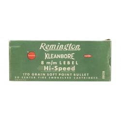 Remington Kleanbore 8mm...