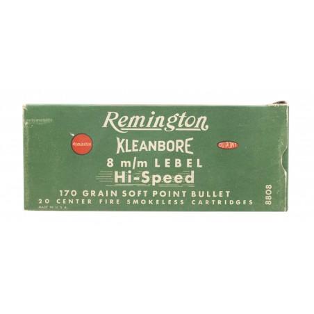 Remington Kleanbore 8mm Lebel 170 Grain Vintage Ammunition (AM70)