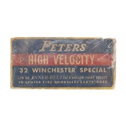 Peters .32 Winchester 170...