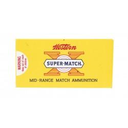 Western X Super Match .38...