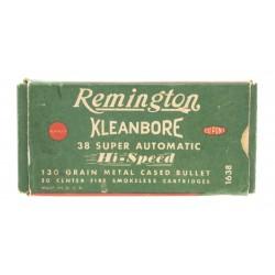 Remington Kleanbore .38...
