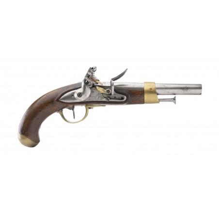 French Model an 13 Flintlock Pistol (AH6474)
