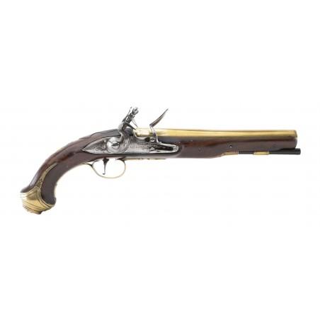 English Flintlock Pistol by Wilson (AH6355)