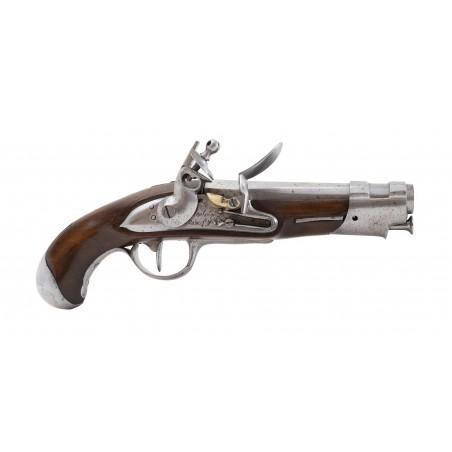 French Model an 9 Gendarme Flintlock Pistol (AH6475)