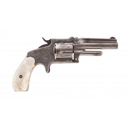 Factory Deluxe Engraved Marlin 38 Standard 1878 Pocket Revolver (AH6202)
