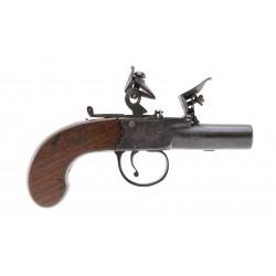 Twigg Flintlock Muff Pistol...