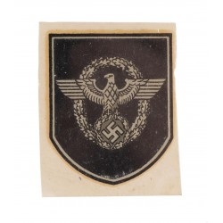 German WWII Police Decal...