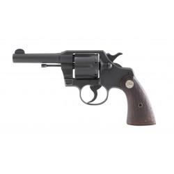 WWII Colt Commando Revolver...