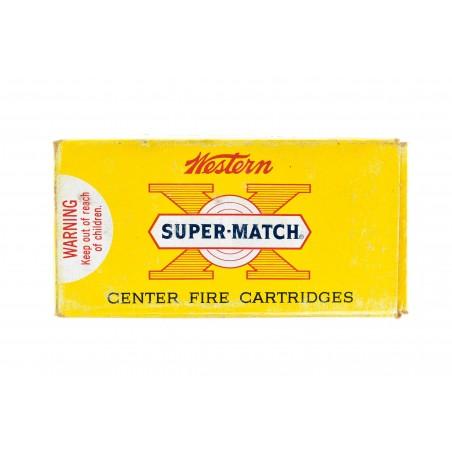 Western Super-Match .45 Automatic 185 Grain Vintage Ammunition (AM81)