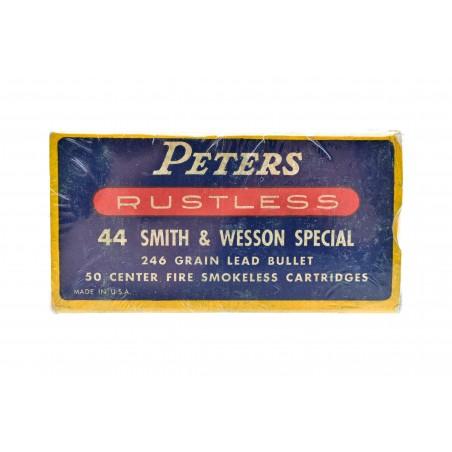 Peters Rustless .44 S&W Special 246 Grain Vintage Ammunition (AM87)