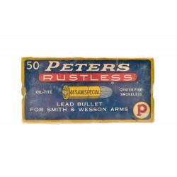Peters Rustless .44 S&W...