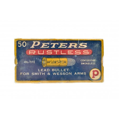 Peters Rustless .44 S&W Special Vintage Ammunition (AM88)