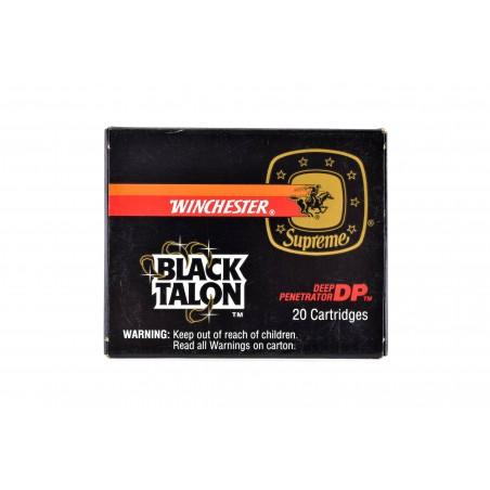 Winchester Black Talon .40S&W 180 Grain Vintage Ammunition (AM103)