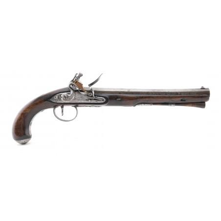British Flintlock Dueling Pistol by Wogdon (AH6306)