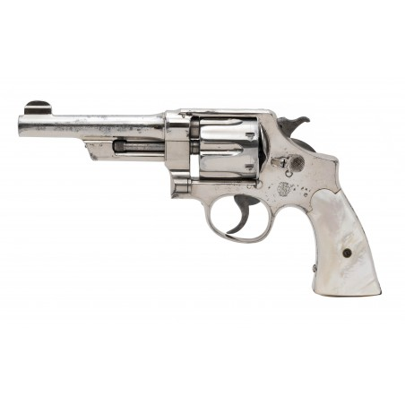 Scarce Nickel Smith & Wesson 3rd Mod. Hand Ejector .44 Special (PR53502)