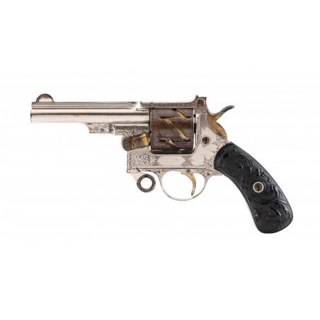 "Very Rare Engraved Mauser Model 1878 ""Zig-Zag"" Revolver (AH5916)"
