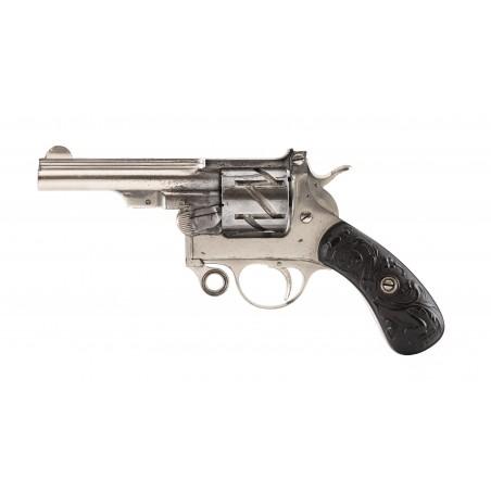 """Rare Mauser 7.6mm Model 1878 """"Zig-Zag"""" Revolver (AH6270)"""