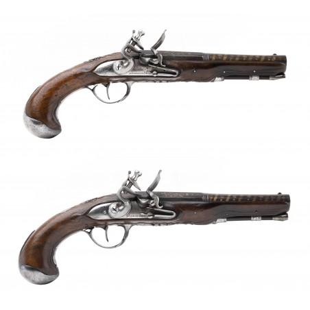 Beautiful Pair of French Flintlock Pistols by Antoine Dumarest (AH6513)
