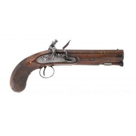 Flintlock Greatcoat Pistol by McDermot (AH6323)