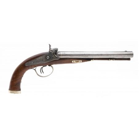 Double Barrel Rifled Percussion Pistol (AH6319)