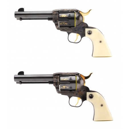 Joe Bowman Consecutive Pair of Ruger Revolvers .45 LC (PR53905)