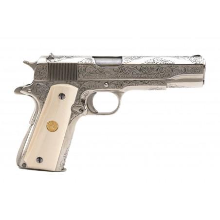 Colt Engraved Super 38 .38 Super (C16992)