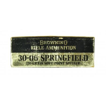 Vintage Browning .30-06 Caliber Ammunition (AM106)